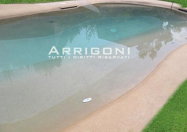 Foto piscine naturali interrate dal design bio for Immagini piscine design